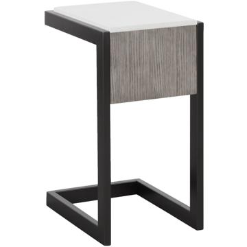 Picture of PURE MODERN C TABLE W/QUARTZ TOP