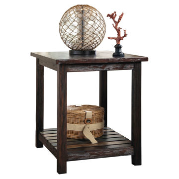 Cozumel Rectangular End Table T580-3