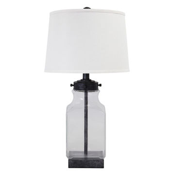 Picture of Sharolyn Clear Glass Table Lamp