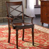 Picture of Cambridge Double X Dining Arm Chair