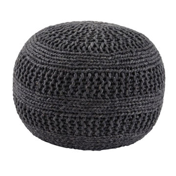 Picture of Benedict Gray Pouf