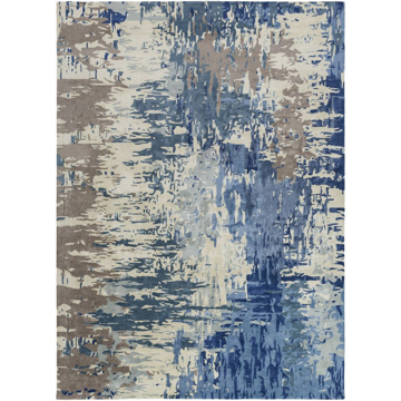 Picture of Banshee Blue 5X8 Rug