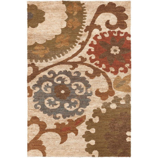 Picture of Columbia Rust 8X11 Rug