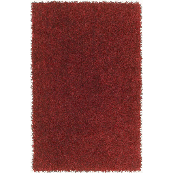 """Picture of Belize Red 5'X7'6"""" Area Rug"""