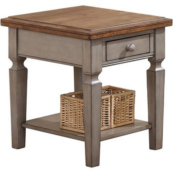 """Picture of Barnwell 14"""" Chairside Table"""