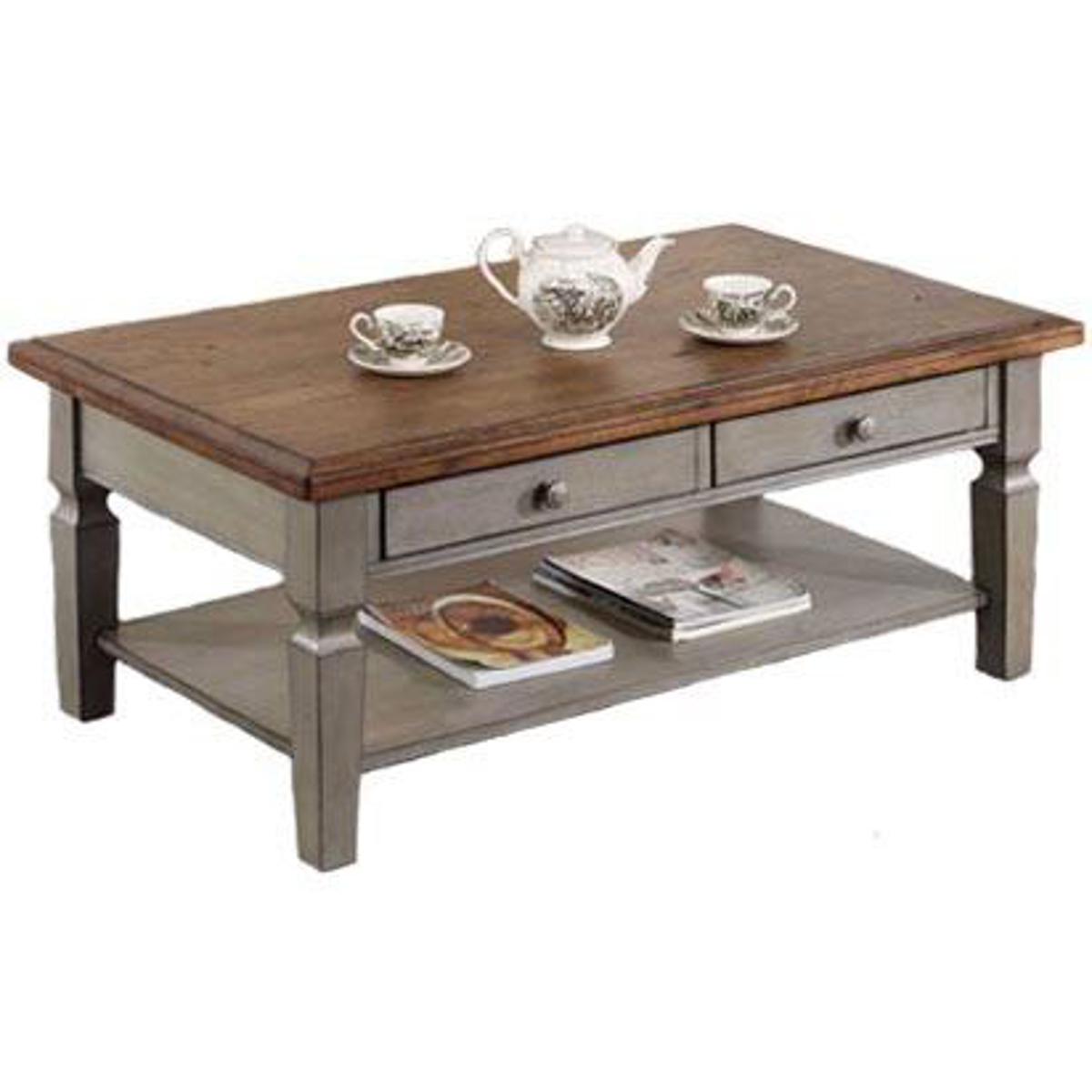 """Picture of Barnwell 48"""" Coffee Table"""