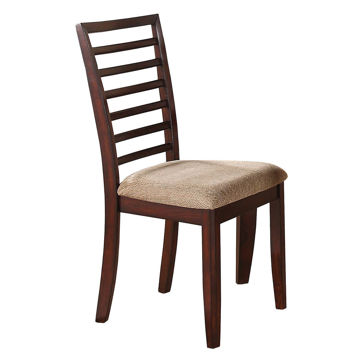 Picture of Brown Stone Ladder Back Side Chair