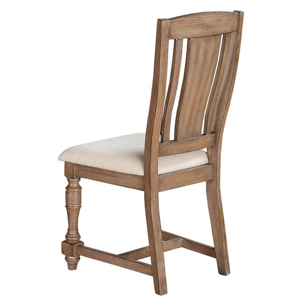 Picture of Xcalibur Gray Slat Back Side Chair