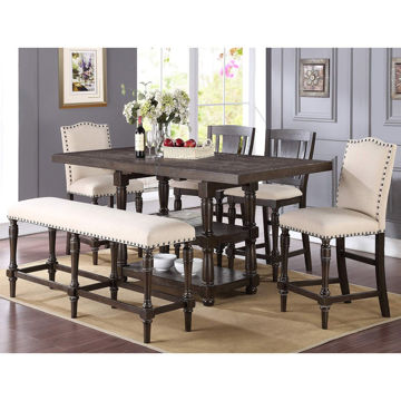 Picture of Xcalibur 7 Piece Tall Dining Set