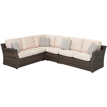 Picture of Cascade 3 Piece Outdoor Sectional