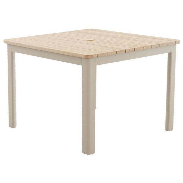 Mesa 40 Square Dining Table In Seacoast By Klaussner Home Furnishings Patio Outdoor Furniture Babette S Furniture Homeshop Leesburg The Village