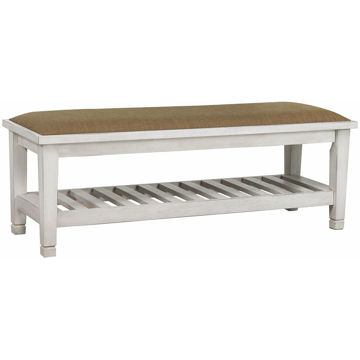 Picture of Nassau White Bench