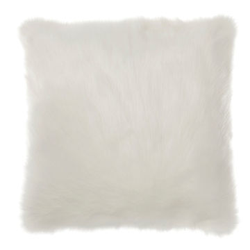 Picture of Himena White Fur Pillow