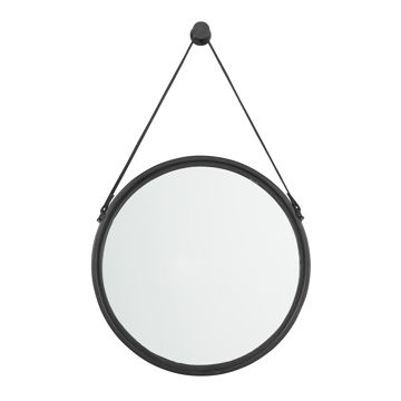 Picture of Dusan Round Black Mirror