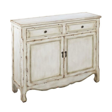 Picture of Weathered White Cupboard
