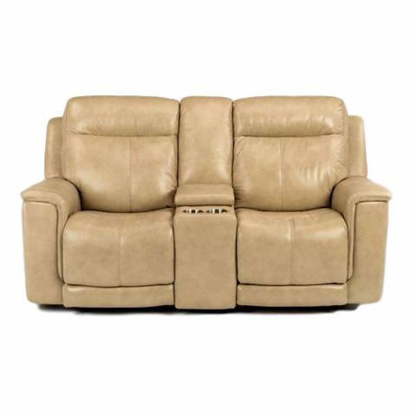 Enjoyable Miller Power Recliner Loveseat With Console And Power Headrest Inzonedesignstudio Interior Chair Design Inzonedesignstudiocom