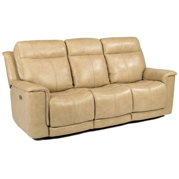 Miller Power Recliner Sofa With Power Headrest By