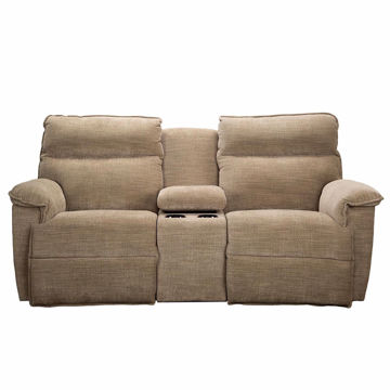 Picture of Jay Power Loveseat with Console and Power Headrest