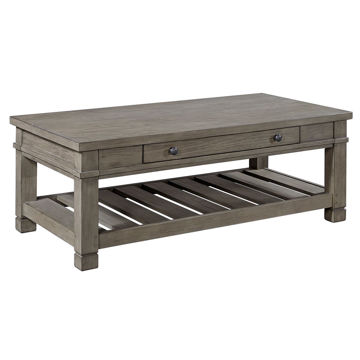 Picture of Triston Cocktail Table in Stone
