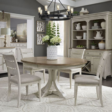 Picture of Roanoak 5 Piece Oval Dining Room Set