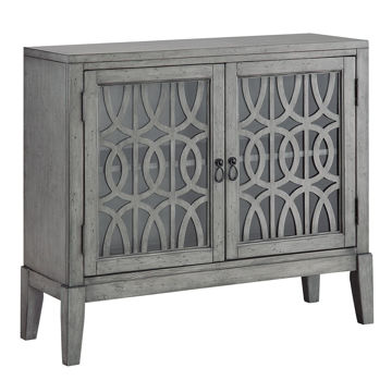 Picture of Grey 2 Door Cabinet