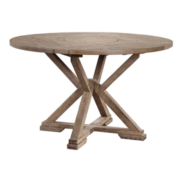 """Picture of Grandview 60"""" Round Tall Table with Lazy Susan"""