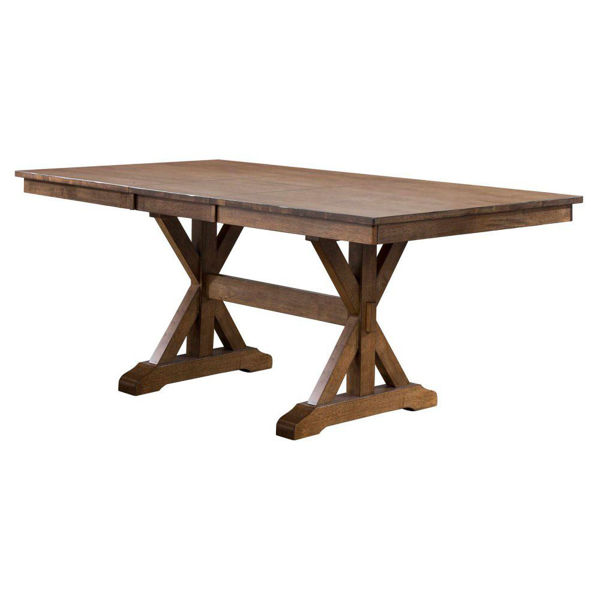 """Picture of Carmel 78"""" Table With 18"""" Butterfly"""