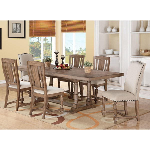 Picture of Xcalibur 7 Piece Dining Set