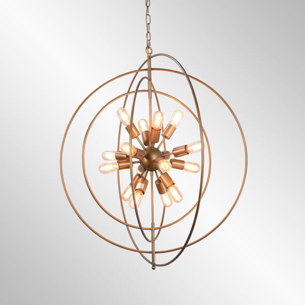 Picture of Cosmos Iron Chandelier