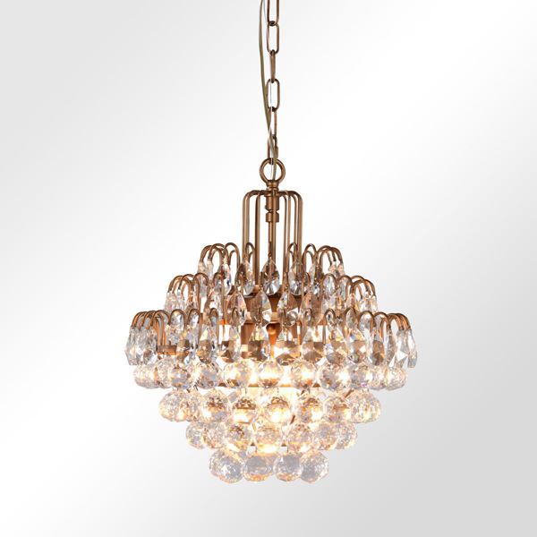 Picture of Grace Medium Crystal Chandelier