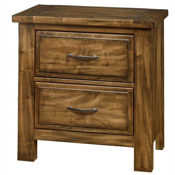 Picture of Artisan & Post Maple Road Nightstand in Antique Amish