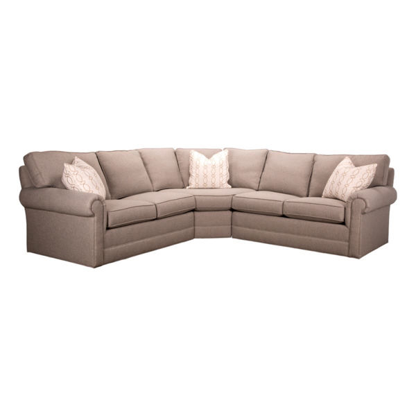 Bristol 3 Piece Sectional Sofa by Lexington Furniture | Living Room ...