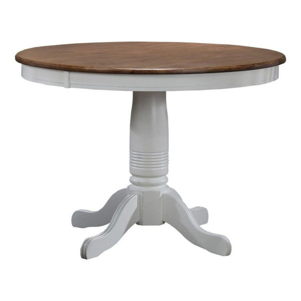 "Picture of Pacifica 42"" Round Pedestal Table"