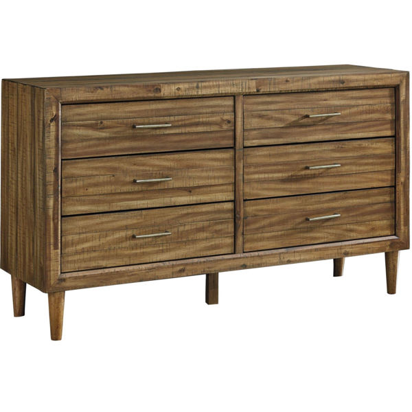 Picture of Clapton 6 Drawer Double Dresser