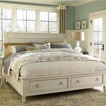 Summer Hill King Panel Storage Bed Universal Furniture 987260B room shot