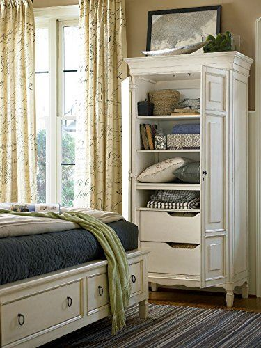 Summer Hill Tall Cabinet Universal Furniture 987160 Room Shot Open
