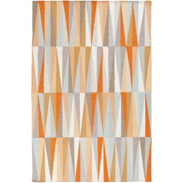 Picture of Frontier Orange Area Rug