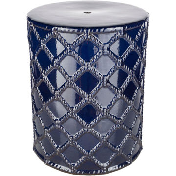 Picture of Gaylor Navy Outdoor Stool