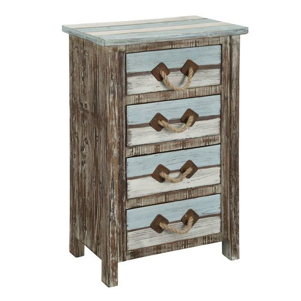 Picture of Distressed Four Drawer Chest
