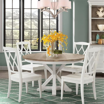 Picture of Myra White 5 Piece Dining Room Set