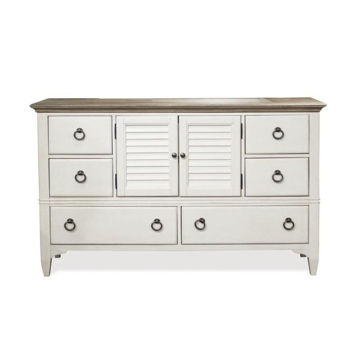 Picture of Myra White Door Dresser