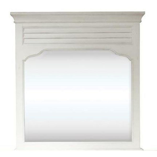 Picture of Myra Landscape Mirror in White