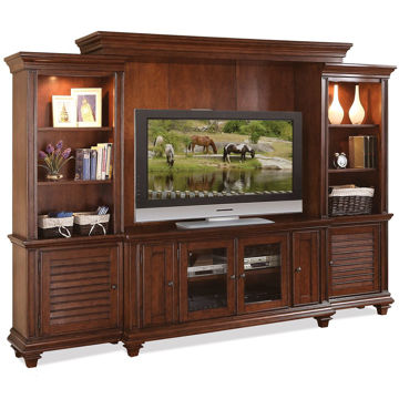 Picture of Windward Bay 5 Piece Entertainment Center
