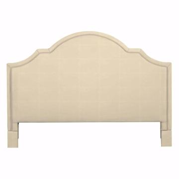 Picture of Barcelona Bonnet Upholstered King Headboard