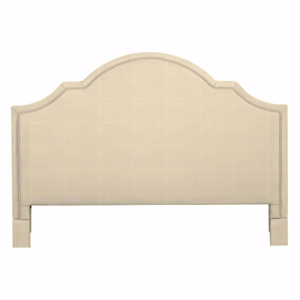 Picture of Barcelona Bonnet Upholstered King Headboard
