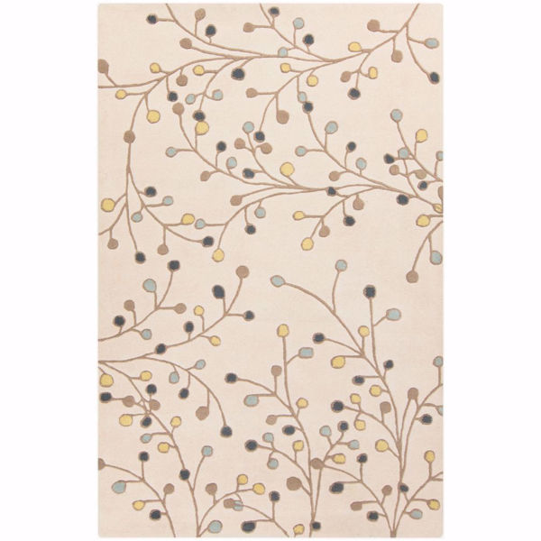 "Picture of Athena Ivory 7'6""X9'6"" Rug"