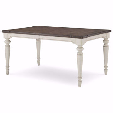 "Picture of Brookhaven Leg Table with 18"" Leaf"