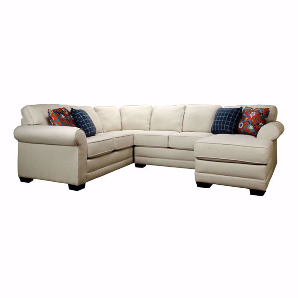 Brantley 4 Piece Sectional Sofa