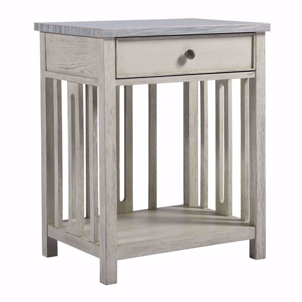 Picture of Escape Bedside Table With Stone Top
