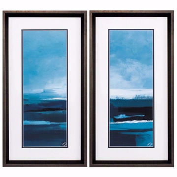 Picture of Blue Tranquility Wall Art Set